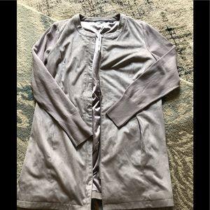 H by Halston light Grey Jacket